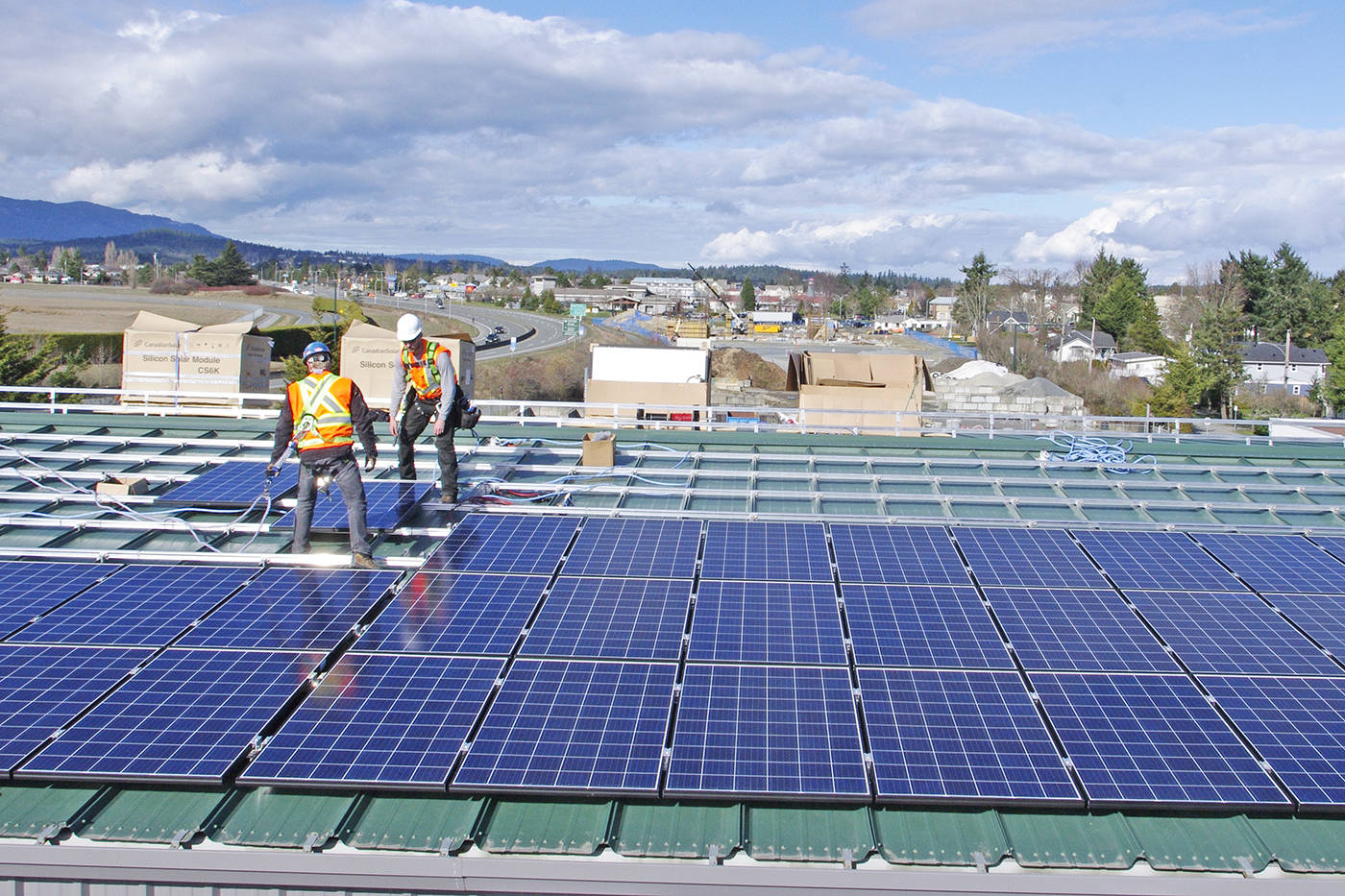 Councillor wants all future homes in Saanich to be solar-ready
