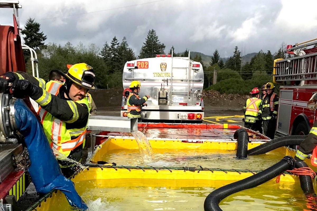 New pay model for Sooke Fire Rescue hopes to attract non-career firefighters