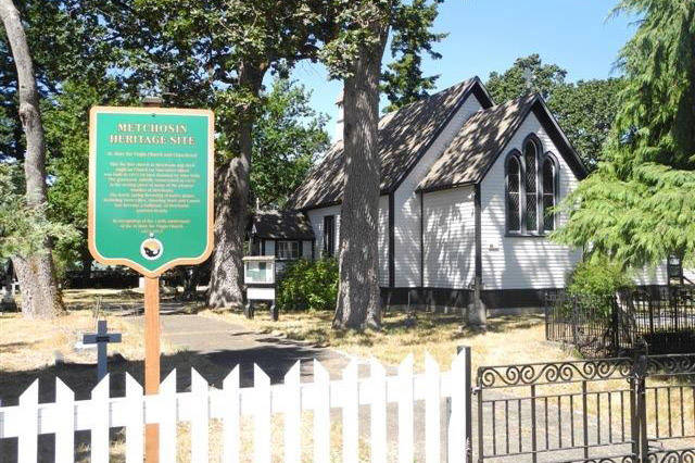 Cemetery tour explores Metchosin's early history
