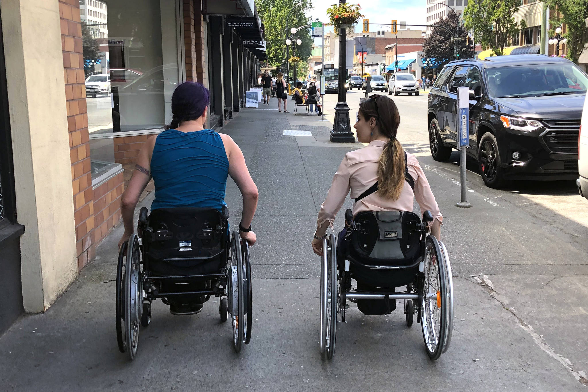Access: A day in the life using a wheelchair in Victoria