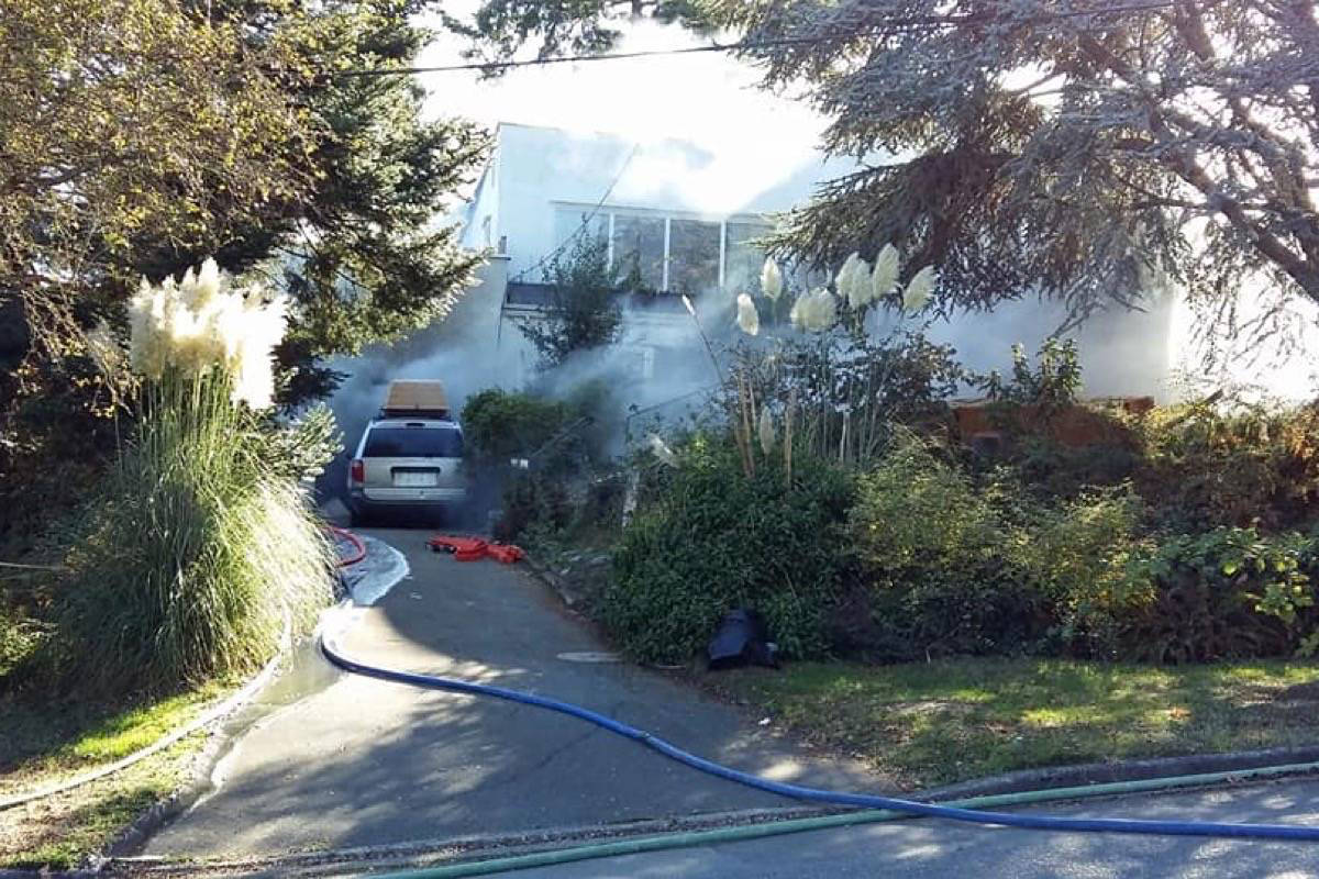 Esquimalt homeowner charged with arson, searched how to transport gasoline days before fire
