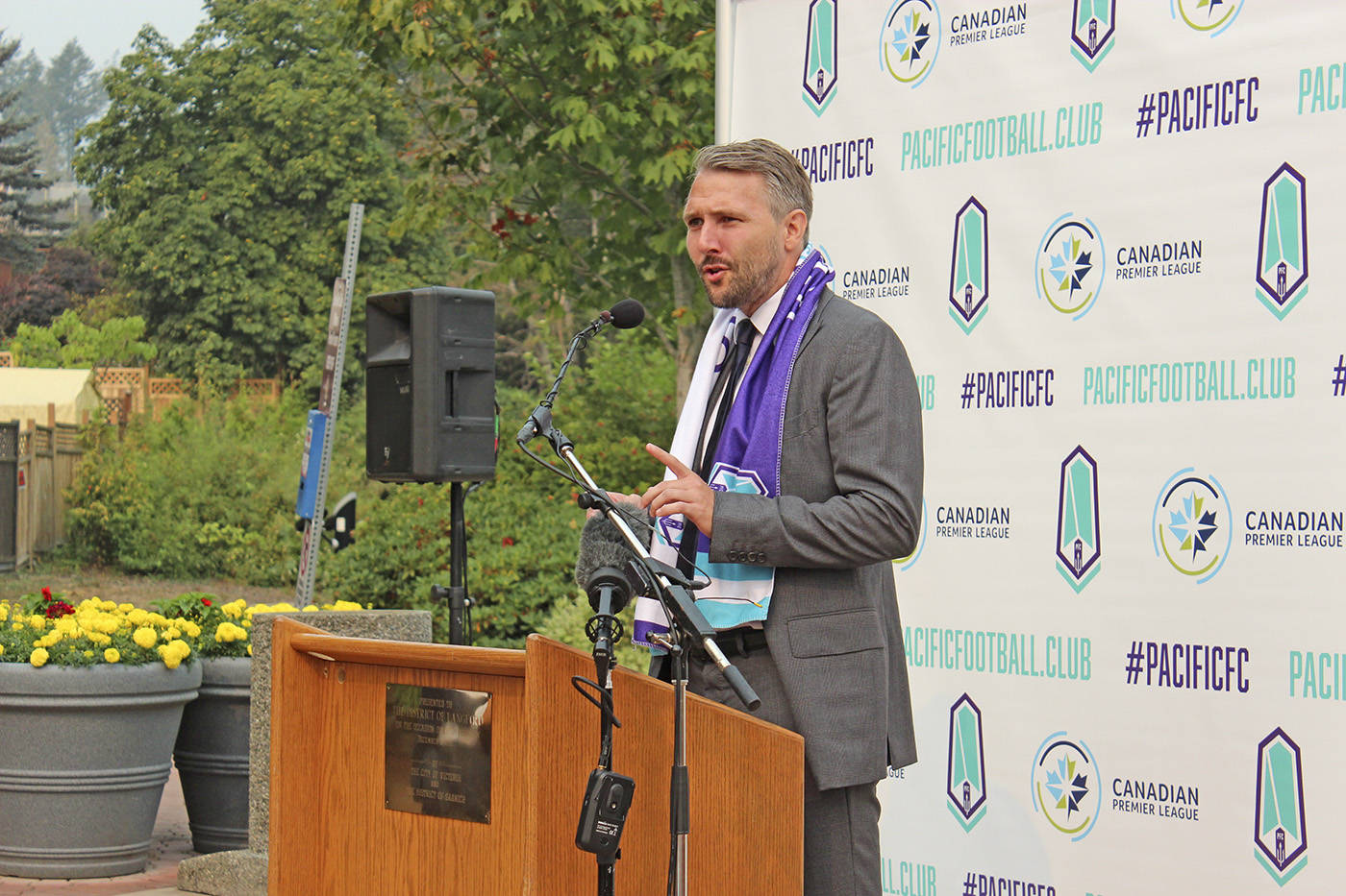 Pacific FC parts ways with head coach before season's end