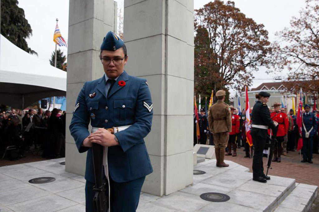 West Shore RCMP issue traffic advisory for Remembrance Day - Oak Bay News