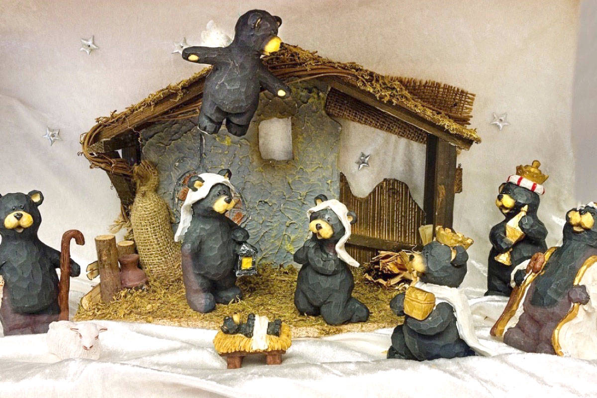 Sooke nativity display back for second year