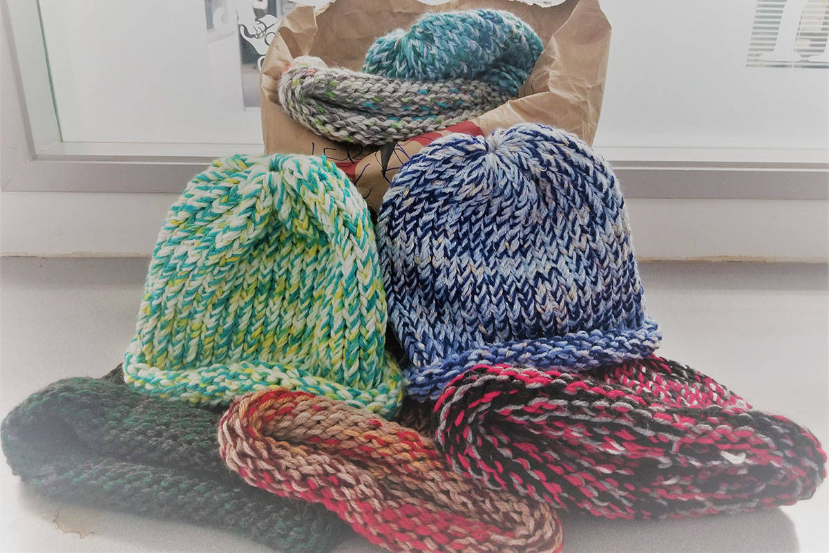 Saanich Police praise altruistic local for donating hand-knitted toques