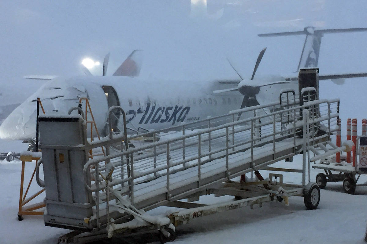 Snowstorm 2020: Some flights cancelled out of YYJ, BC Ferries running