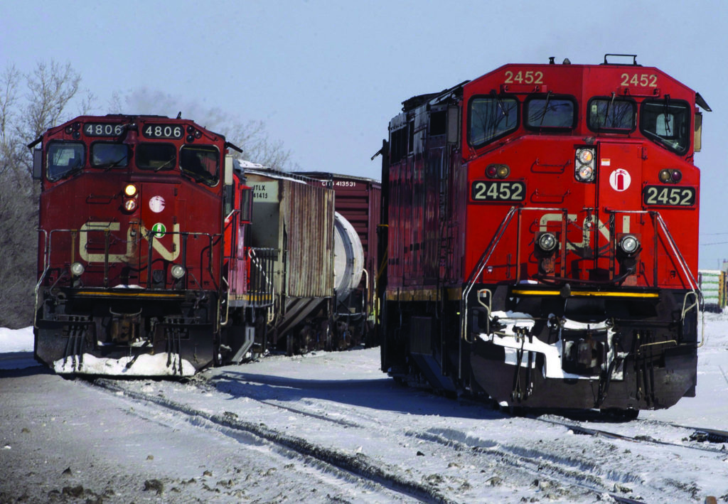 CN Rail notches record grain movement for March as it clears blockade backlog - Oak Bay News