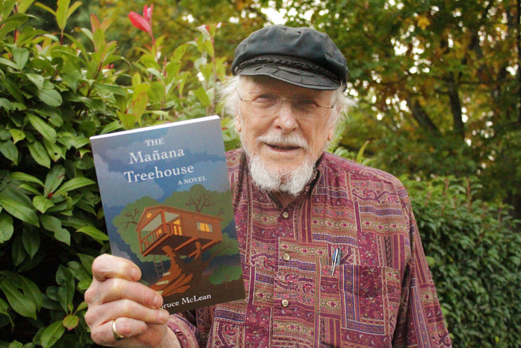91-year-old Saanich man publishes first novel based on wife's Alzheimer's experience - Oak Bay News