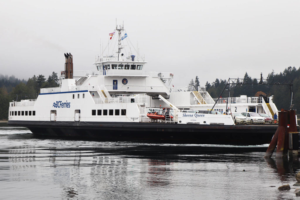 BC Ferries cancels sailings between Greater Victoria and Salt Spring Island - Oak Bay News