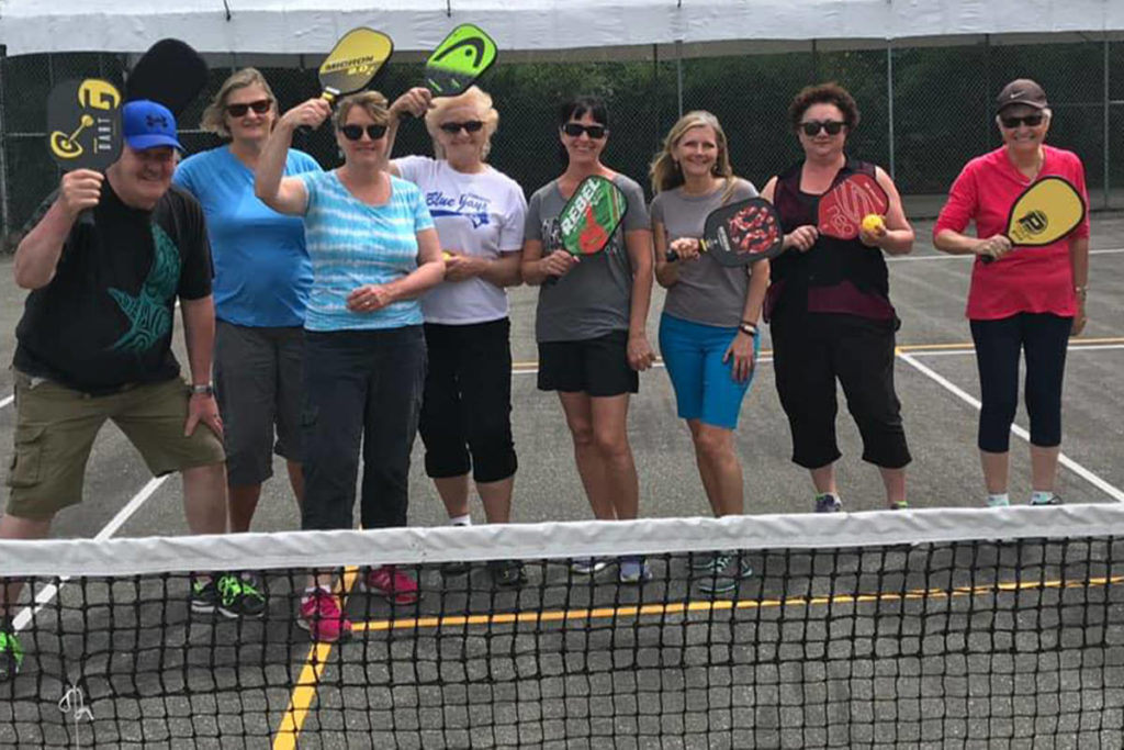 Sooke pickleball enthusiasts push for outdoor court resurfacing - Oak Bay News