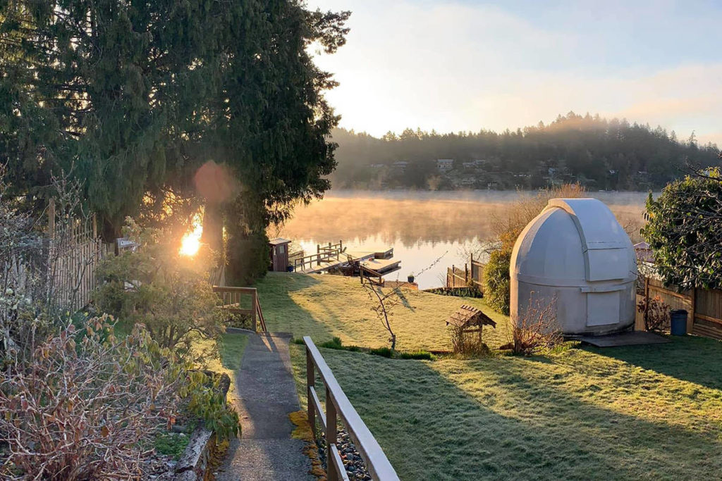 Colwood stargazing dome makes a move to Saanich - Oak Bay News