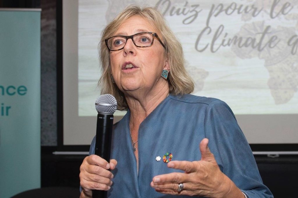 MP Elizabeth May says public has right to know identity of Sidney warehouse operator - Oak Bay News