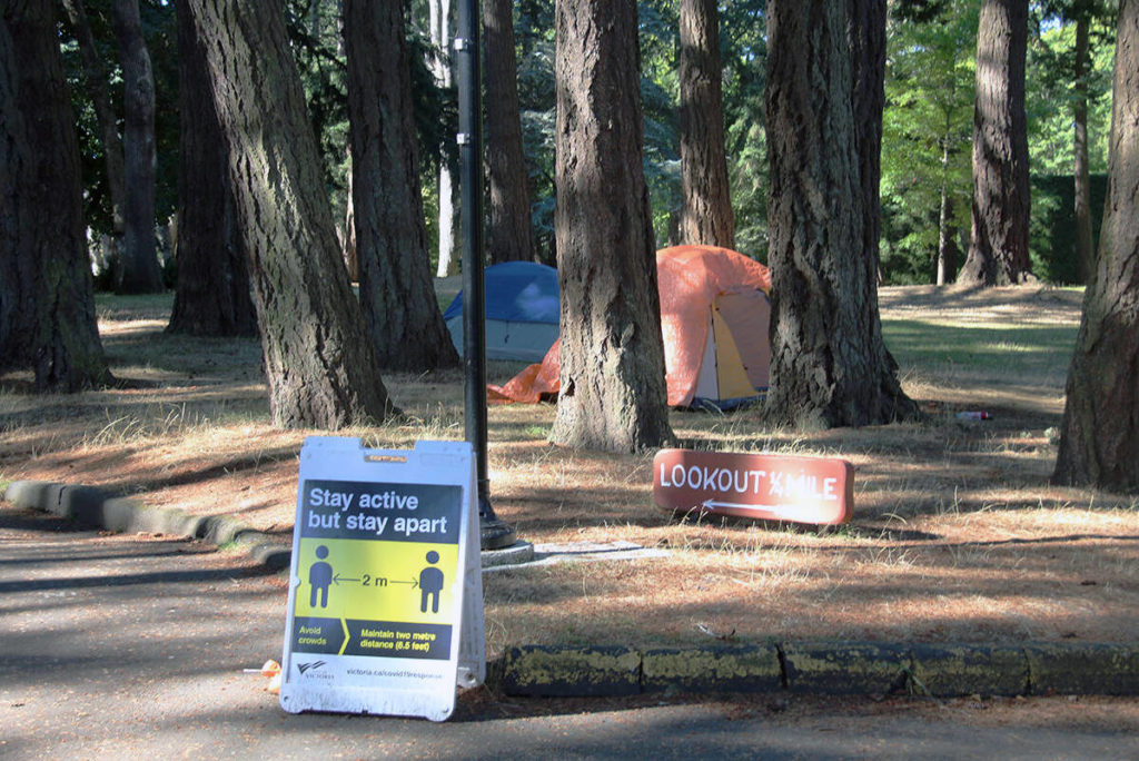 Vancouver Island Health confirms outbreak of COVID among Victoria community of those facing homelessness - Oak Bay News